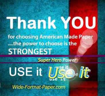 18 inch WIDE Plotter Papier